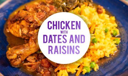 Chicken With Dates And Raisins