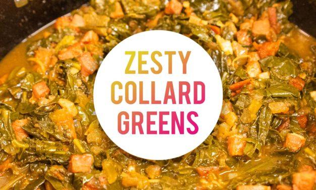 Zesty Collard Greens