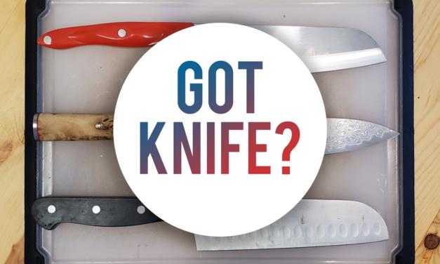 WHAT KITCHEN KNIVES SHOULD I BUY?
