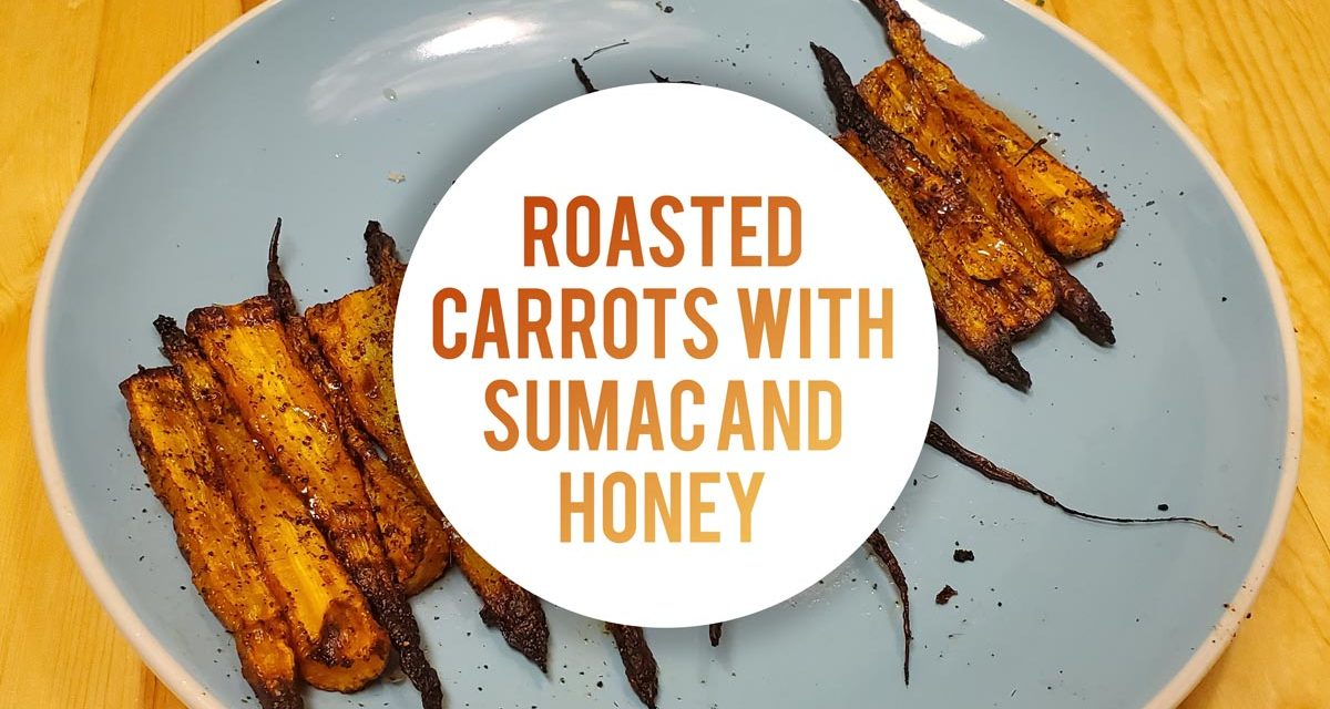 Roasted Carrots With Sumac And Honey