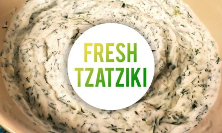 The Freshest Tzatziki Sauce