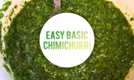 Easy Basic Chimichurri