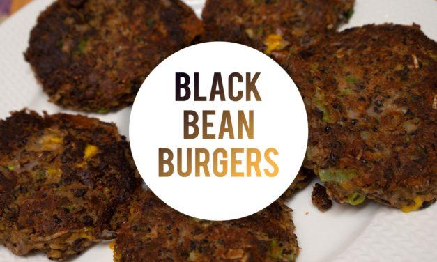 The TASTIEST Black Bean Burgers